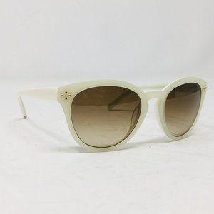 Chloe CE 630S Sun glasses cat eye round cream